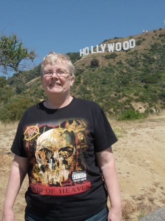 hollywood sign and me